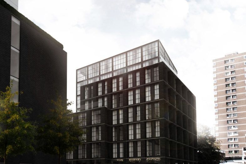 Blakes Hotel development in Shoreditch, London N1