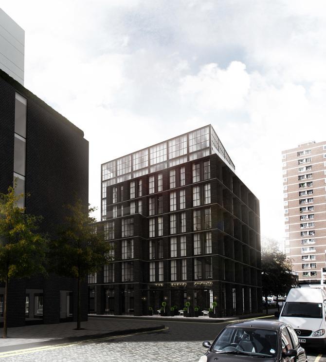 Blakes Hotel development in Shoreditch, London N1